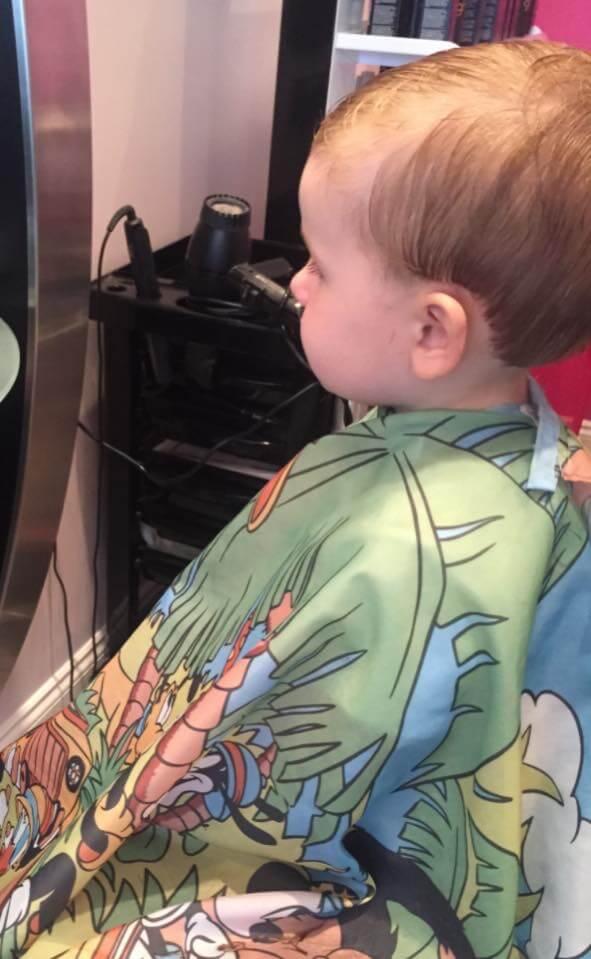 kids hair cut barnsley